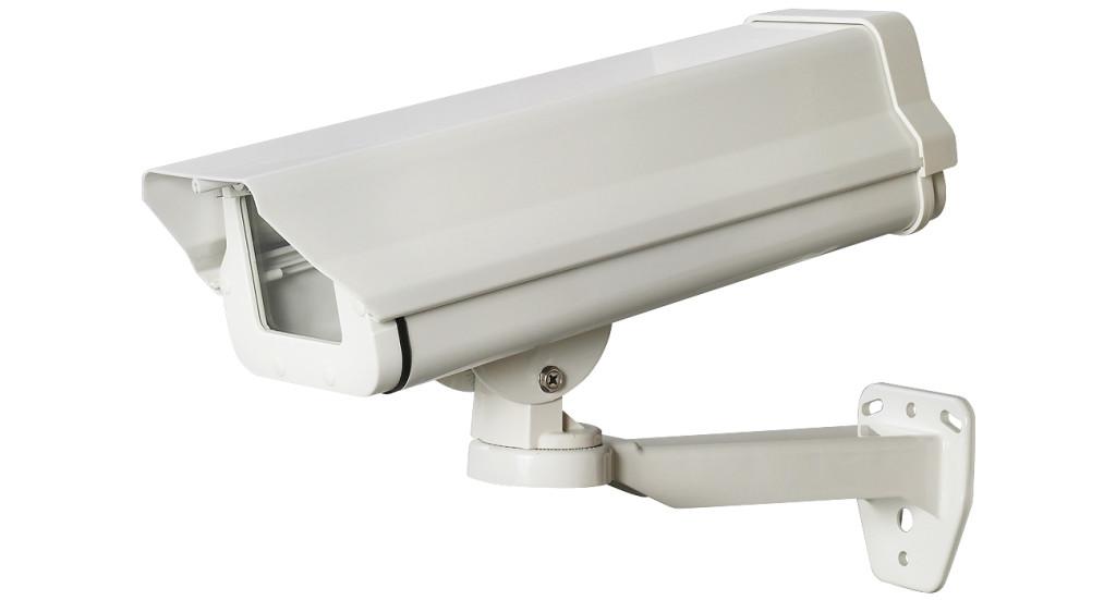 屋外ハウジング型ダミーカメラ